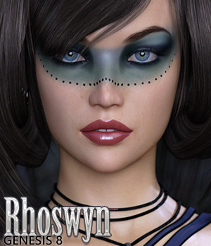 Rhoswyn for Genesis 8 Female 3D Figure Assets Silver