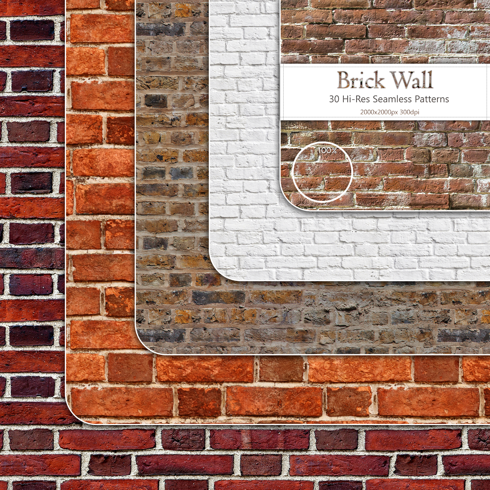 BrickWall :: Seamless Patterns