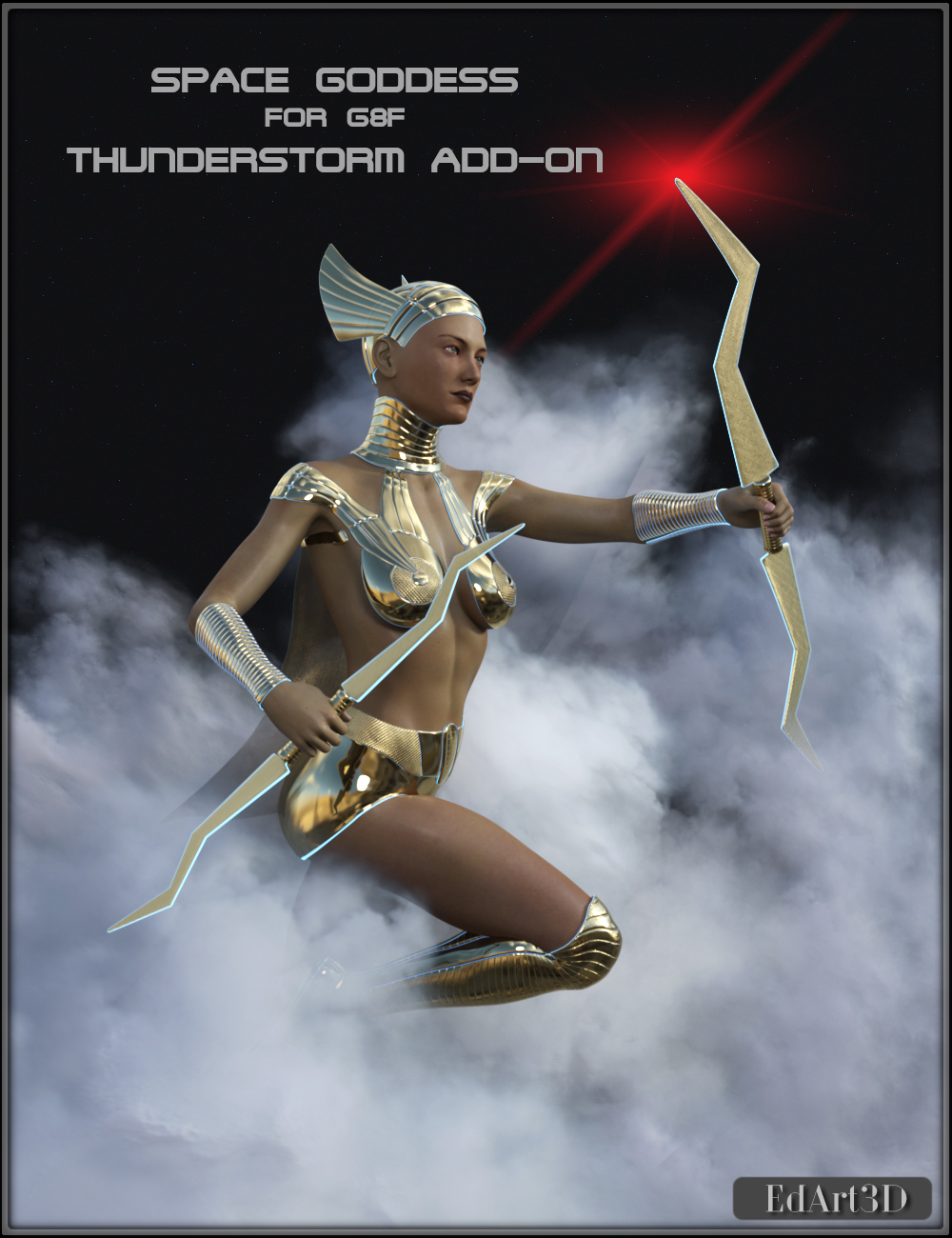 Space Goddess for G8F - Morphing Thunderstorm AddOn