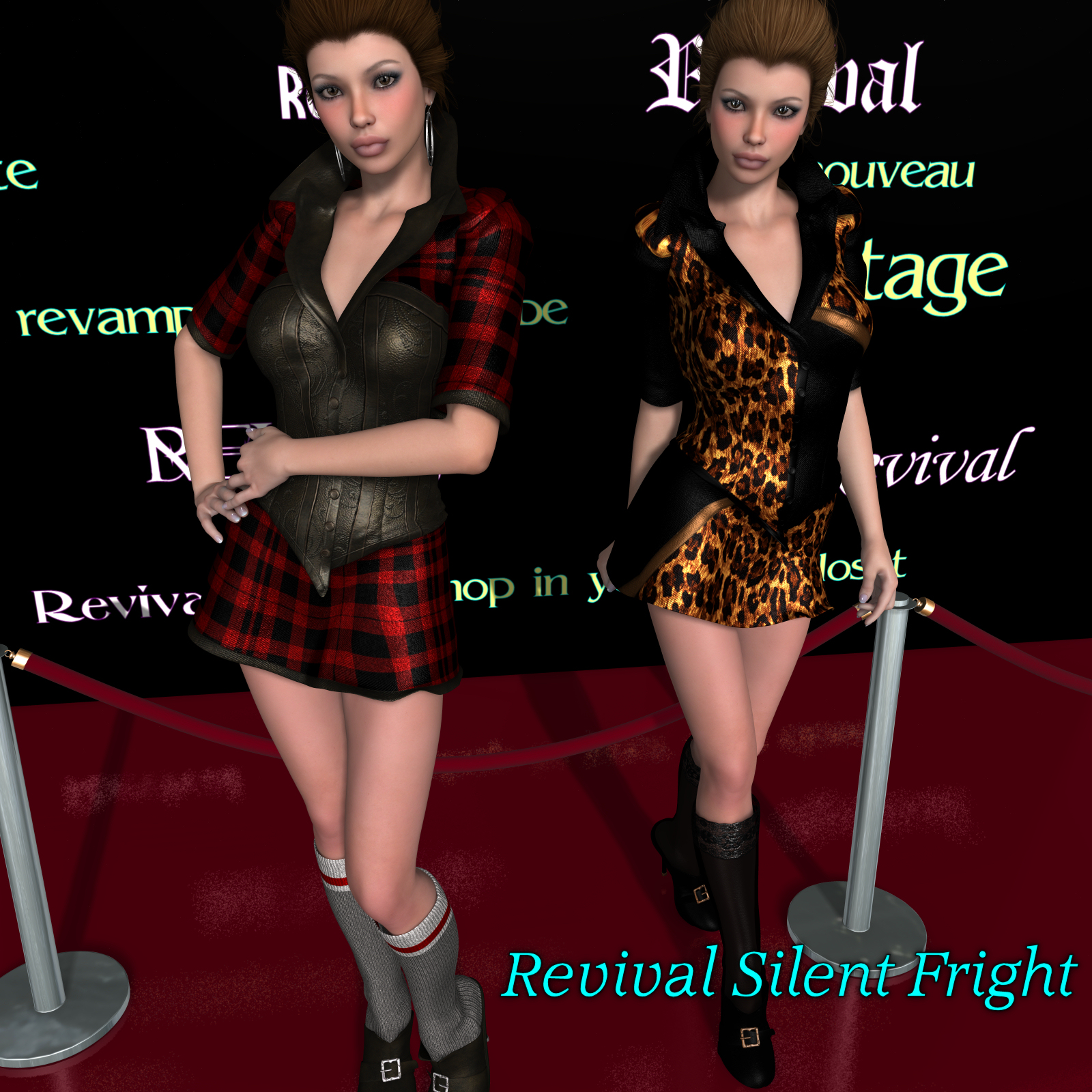 Revival for Silent Fright by DivabugDesigns