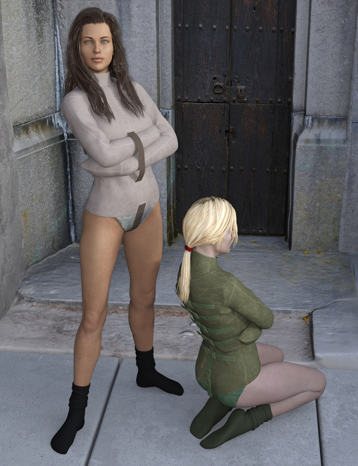 Straitjacket for Genesis 8 Females