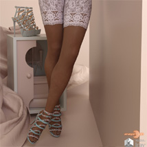 Bettie Heels and Pantyhose G8F image 5