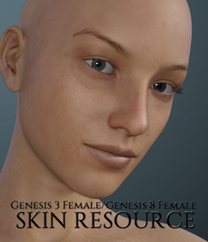 Genesis 3 Female and Genesis 8 Female Skin Resource 2D Graphics 3D Figure Assets Merchant Resources PainMD