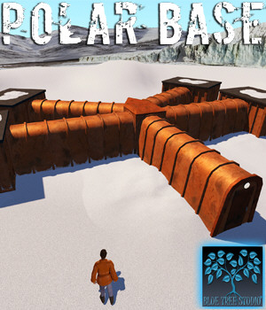 Polar Base 3D Models BlueTreeStudio