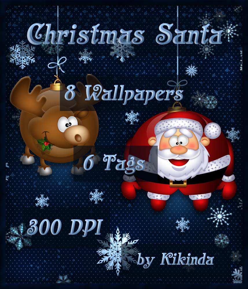 CHRISTMAS SANTA Wallpapers and Tags
