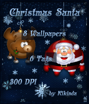 CHRISTMAS SANTA Wallpapers and Tags 2D Graphics kikinda