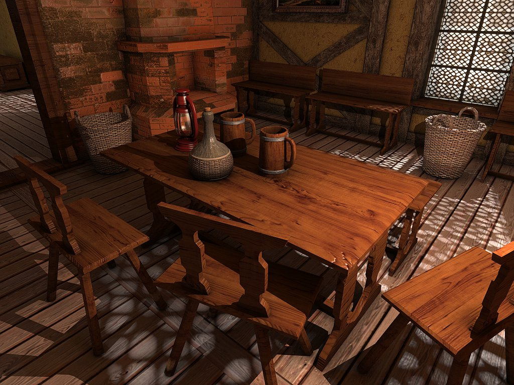 Medieval Interiors - Extended License