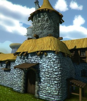 Medieval Cartoon City - Extended License 3D Game Models : OBJ : FBX 3D Models Extended Licenses dexsoft-games