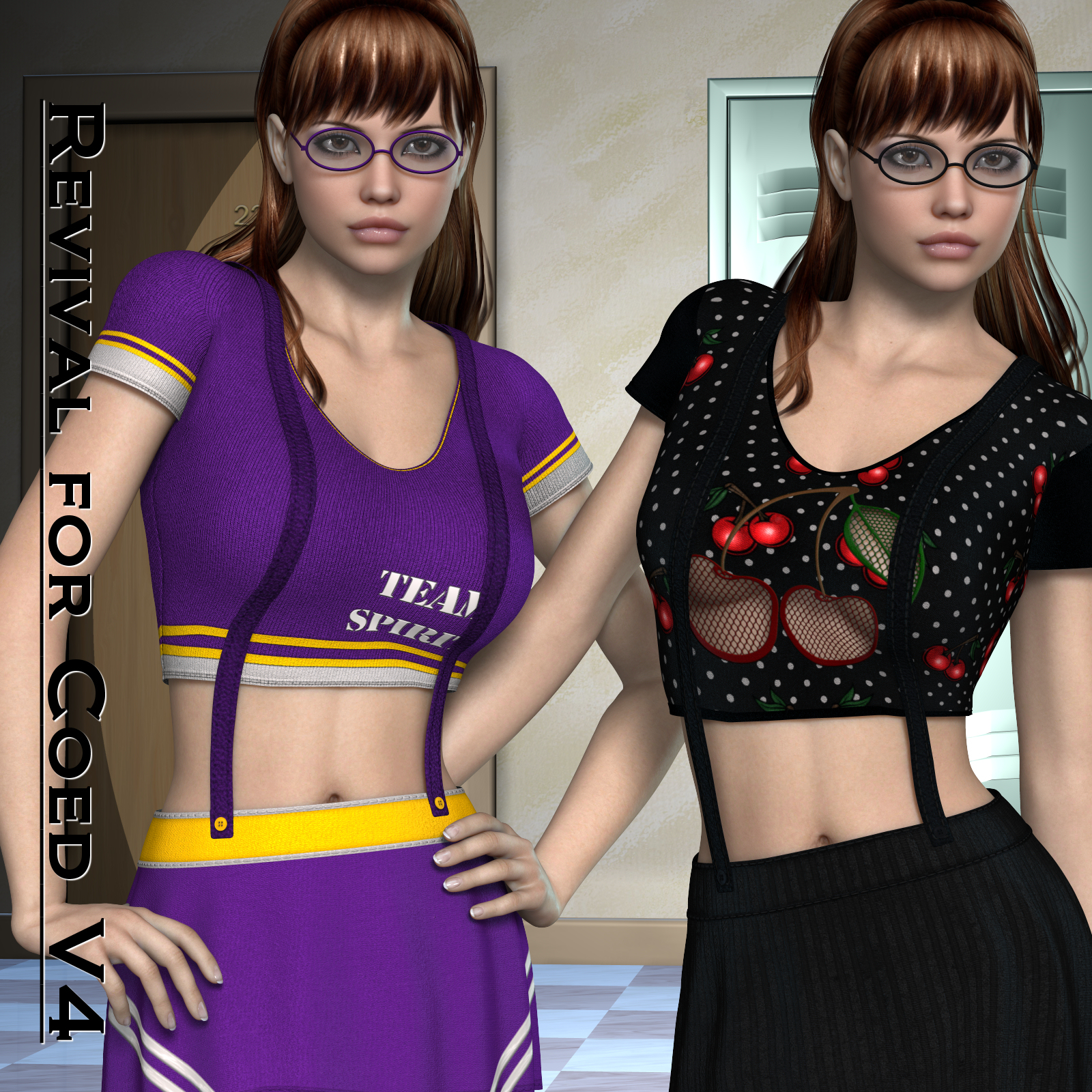 Revival for Coed_V4_Poser