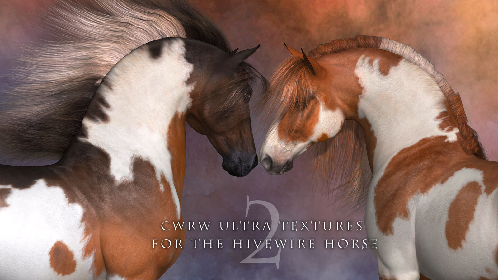 CWRW Ultra Textures for the HiveWire Horse Pack 2