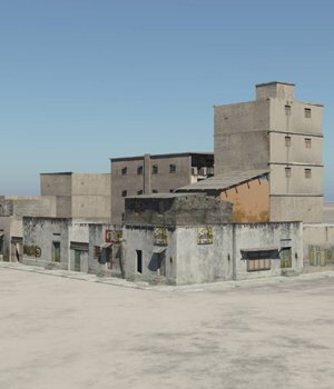 Shanty Town Buildings 2: City Block A - for Vue  3D Models VanishingPoint