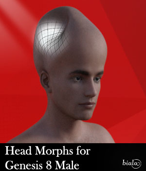 Head Morphs For Genesis 8 Male 3D Figure Assets biala