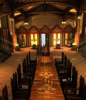 Kings Hall Festival - Extended License 3D Game Models : OBJ : FBX 3D Models Extended Licenses dexsoft-games