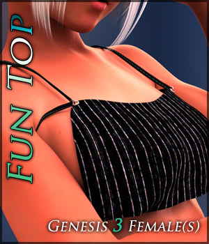 FunTop for Genesis 3 Females 3D Figure Assets Quanto