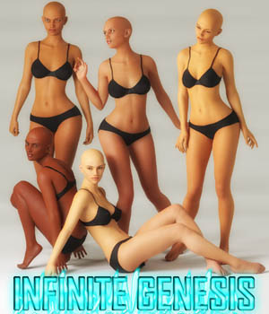 Infinite Genesis for Genesis 8  3D Figure Assets Vex