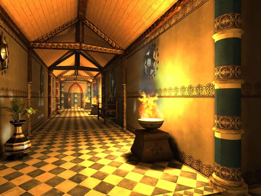 Kings Hall Corridors - Extended License by dexsoft-games