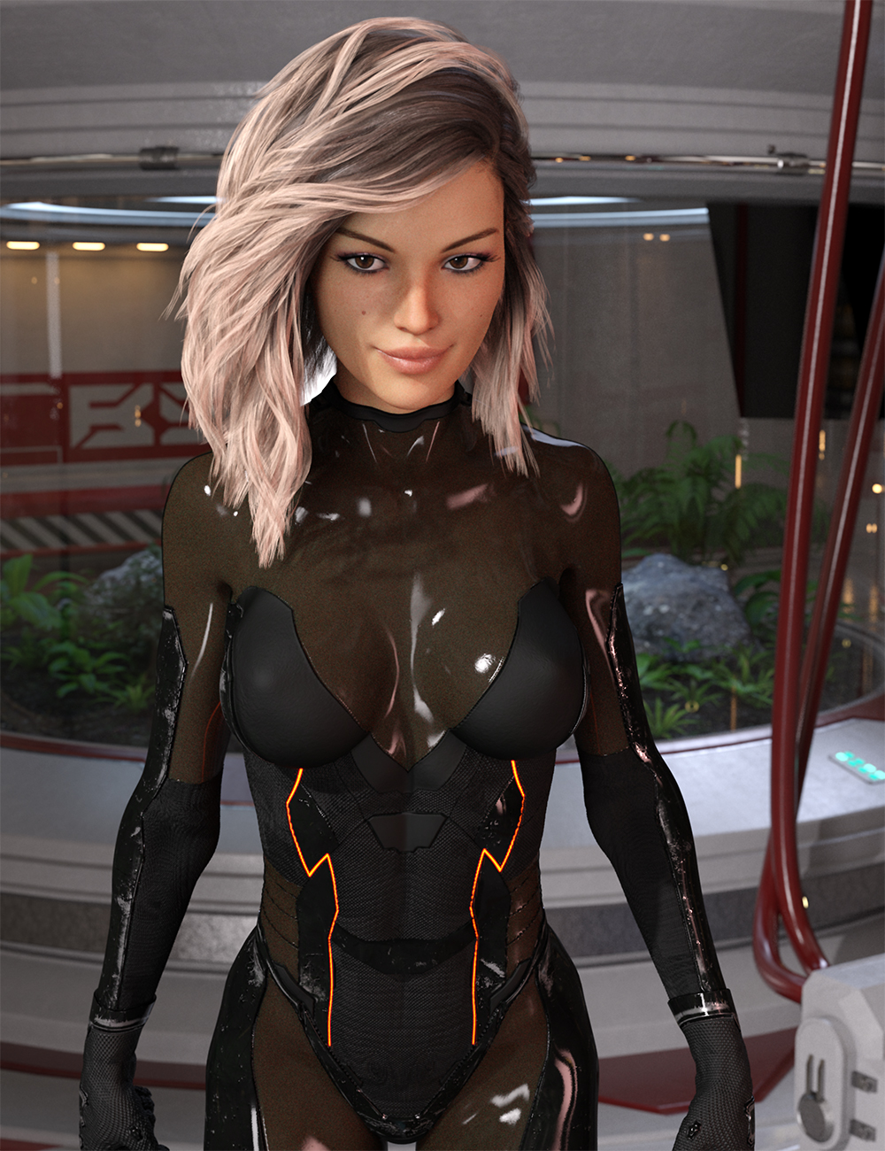 Alion Suit for Genesis 8 Female DazStudio