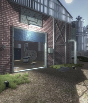 Industrial Hangar - Extended License 3D Game Models : OBJ : FBX 3D Models Extended Licenses dexsoft-games