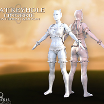 Cat Keyhole Lingerie Material Add-on for G8F image 6