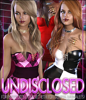 Undisclosed for Little Secret III 3D Figure Assets ShanasSoulmate