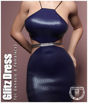 Glitz Dress for Genesis 8 Female(s) by outoftouch