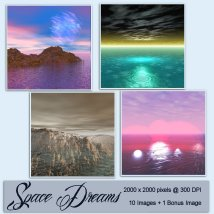 Backgrounds of Space Dreams image 1