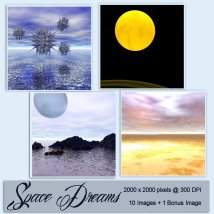 Backgrounds of Space Dreams image 3