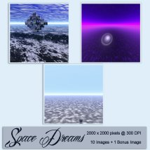 Backgrounds of Space Dreams image 4