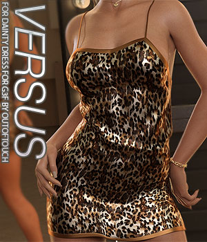 VERSUS - Dainty Dress for Genesis 8 Females 3D Figure Assets Anagord