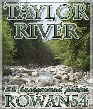 Taylor River 2D Graphics Rowan54