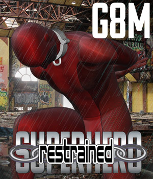 SuperHero Restrained for G8M Volume 1 3D Figure Assets GriffinFX