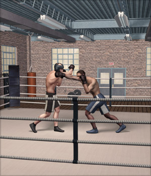 Boxing Gym 3D Models Richabri