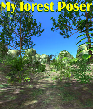 My forest Poser 3D Models JeffersonAF