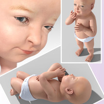 Sixus1 - The Baby for Genesis 8 Female image 2