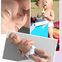 Sixus1 - The Baby for Genesis 8 Female image 3