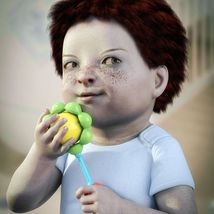 Sixus1 - The Baby for Genesis 8 Female image 7