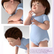 Baby Hair for Sixus1  The Baby image 2