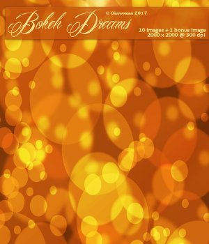 Backgrounds of Bokeh Dreams 2D Graphics Claywoman