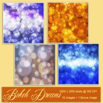 Backgrounds of Bokeh Dreams image 1