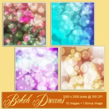 Backgrounds of Bokeh Dreams image 2