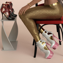 Lucy Heels and Pantyhose G8F image 6