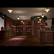 Victorian Gift Shop for Poser and DS  image 4