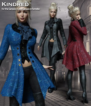 Kindred for the Genesis 3 and Genesis 8 Females by RPublishing
