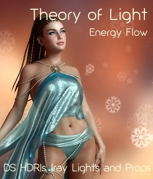 Theory of Light - Energy Flow Iray Lights, HDRIs and Props 3D Lighting : Cameras 3D Models fabiana