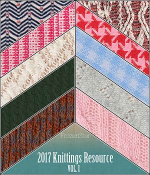 FS 2017 Knittings Resource Vol.I 2D Graphics Merchant Resources FrozenStar