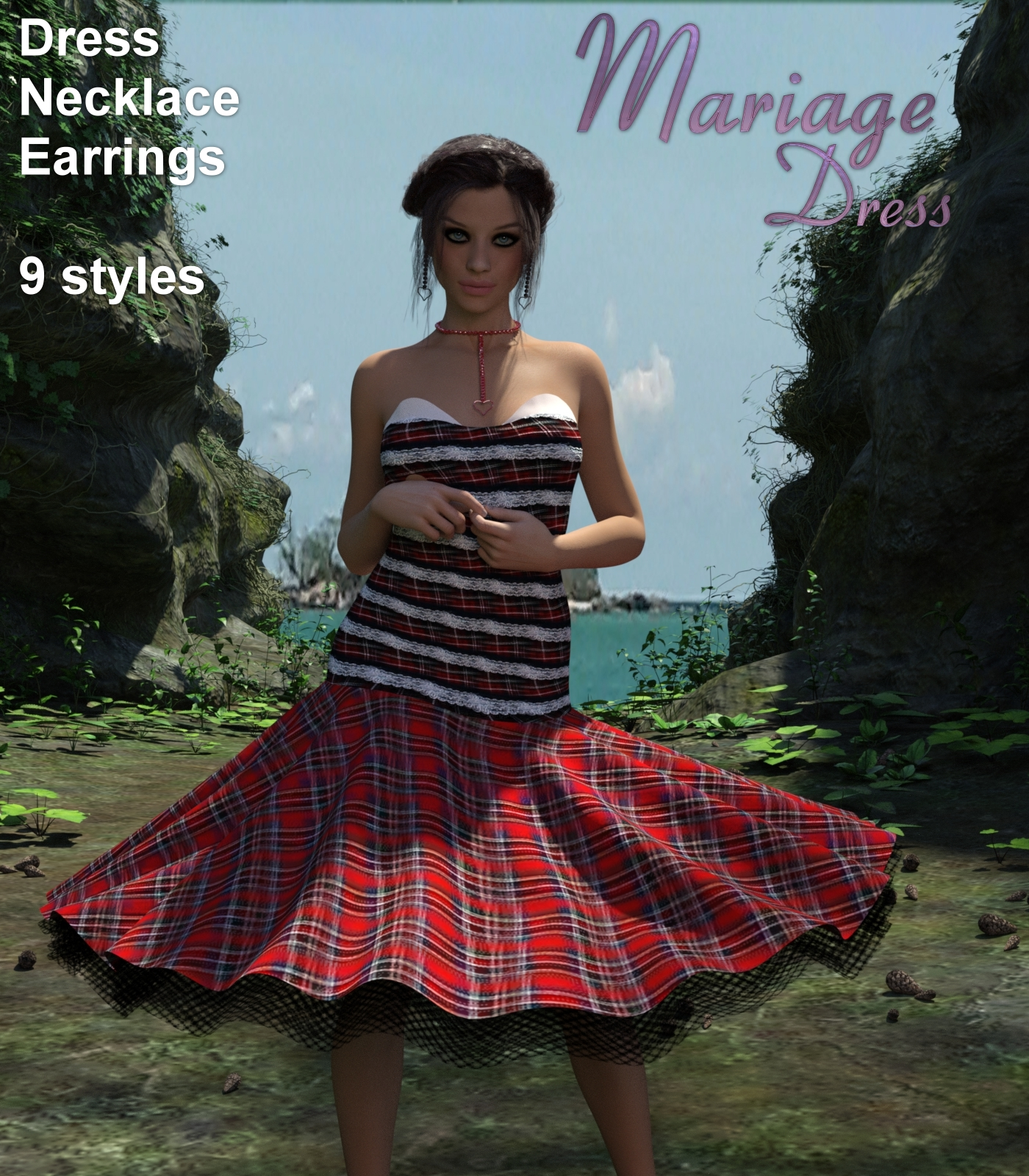 Mariage Dress for G3F