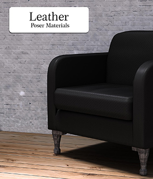 Leather :: Poser Materials 2D Graphics Merchant Resources Cyrax3D