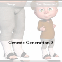 Walk in Flats V for Genesis 3 and Genesis 8 image 5