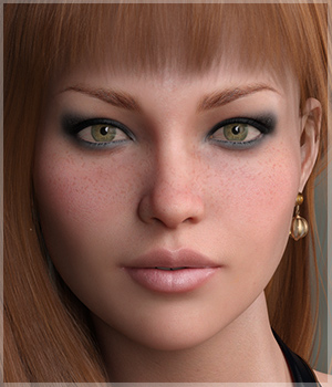 GDN Djenna for Genesis 8 Female by Godin