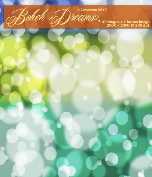 Backgrounds of Bokeh Dreams II 2D Graphics Claywoman